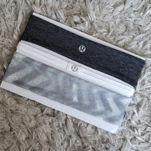 LULULEMON Headbands Bundle of 3